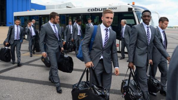 The England Team Depart for the 2014 Brazil World Cup